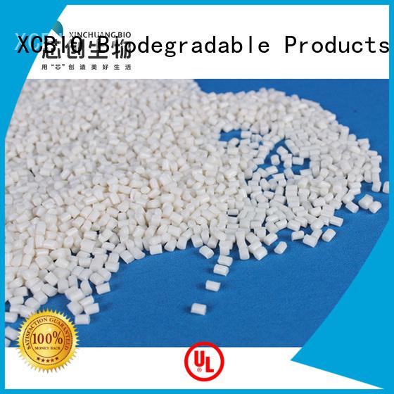 XCBIO biodegradable plastic pellets suppliers