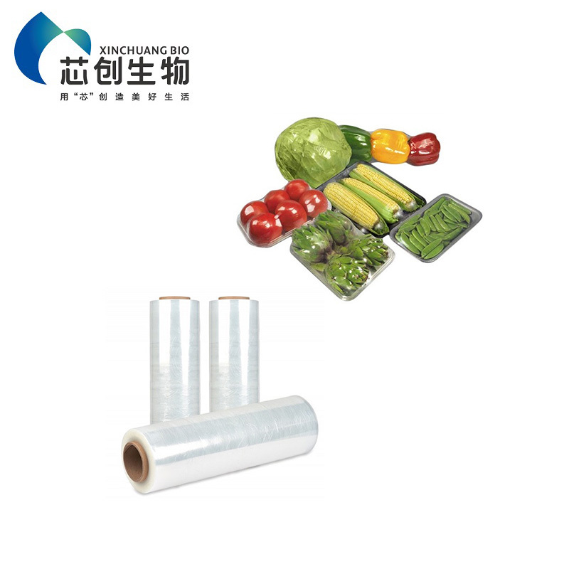 Compostable PLA Cling Film Food Packaging Plastic Wrap