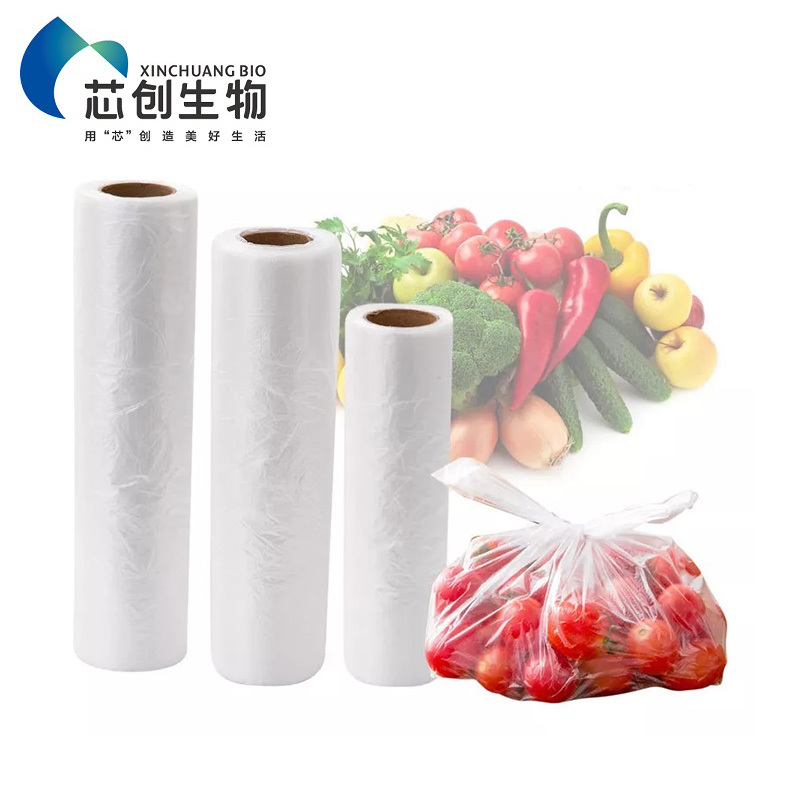 Biodegradable PBAT/PLA Compostable Fresh Bag
