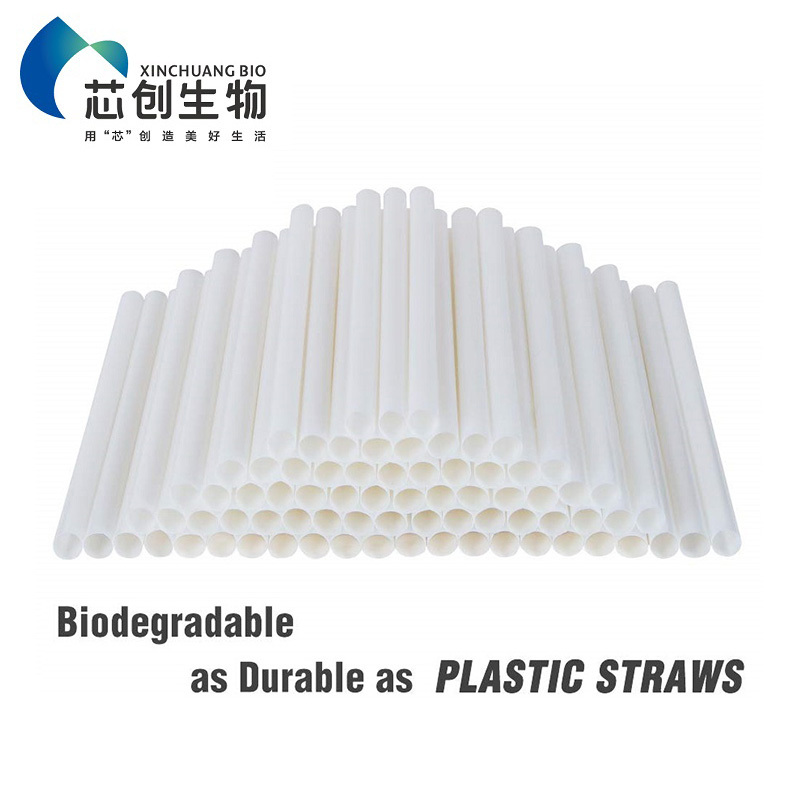 Corn Starch Pla Drinking Straws Food Grade Eco Friendly