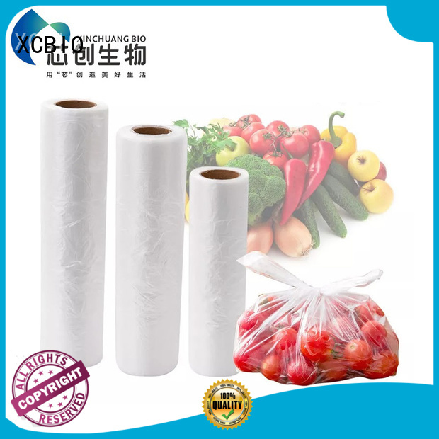 XCBIO wholesale biodegradable produce bags suppliers