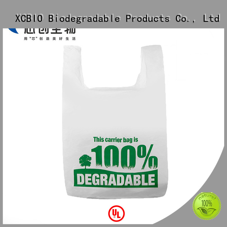 XCBIO compostable food packaging factory