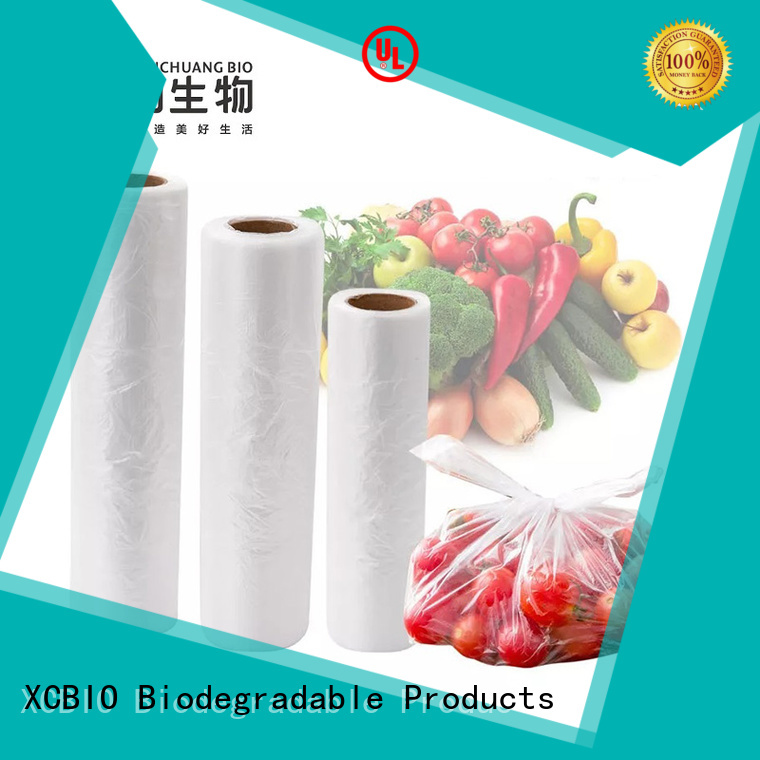 XCBIO plastic produce bags suppliers