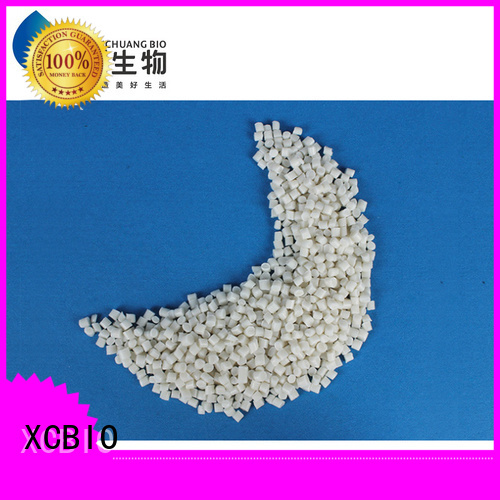 XCBIO biodegradable plastic pellets manufacturers for factory