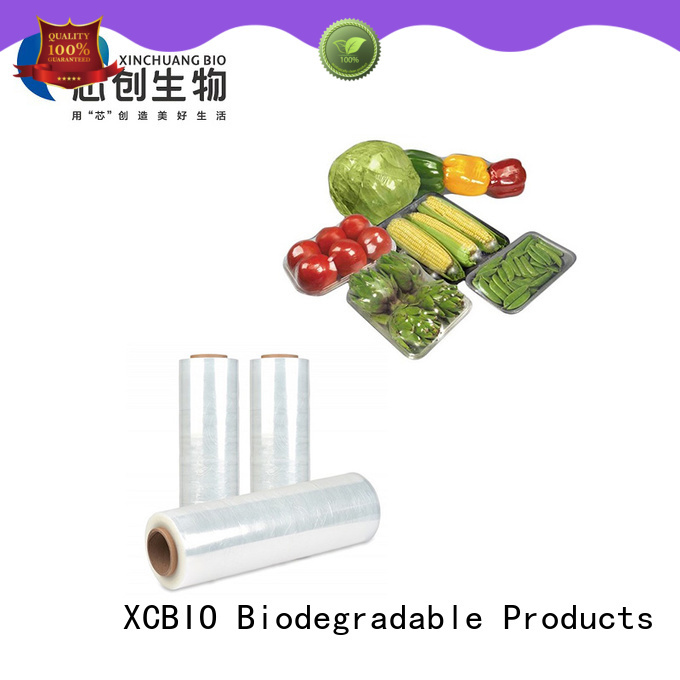 XCBIO biodegradable food waste bags factory