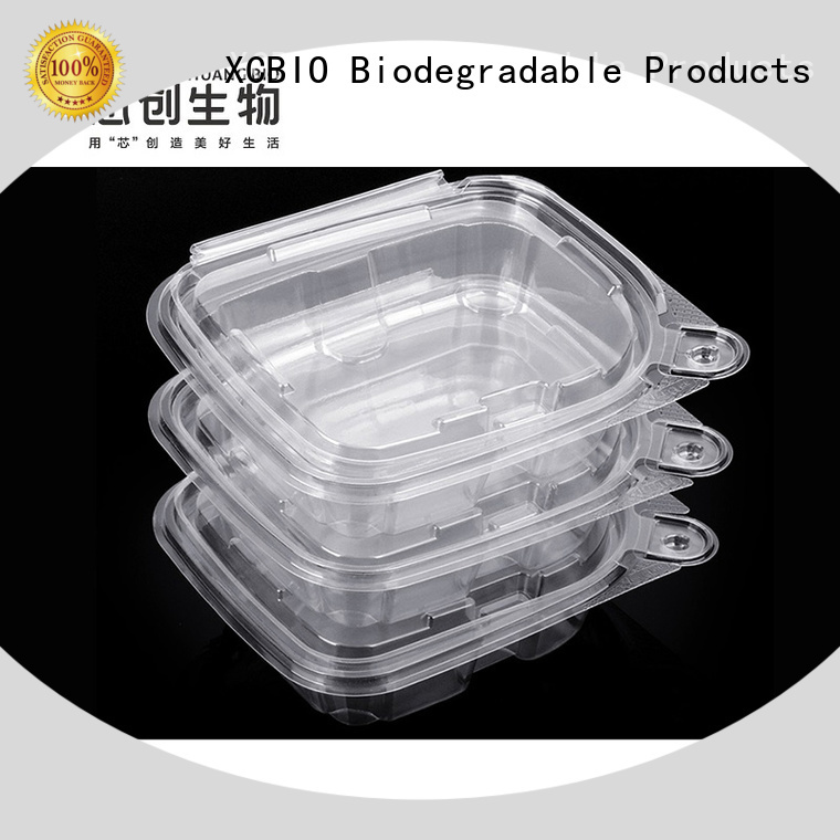 XCBIO high-energy compostable food bags long-term-use for office
