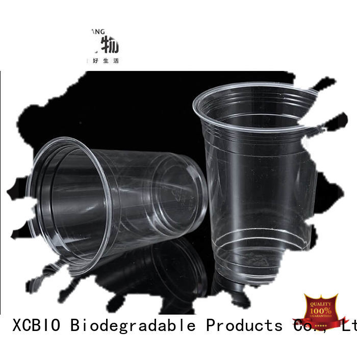 XCBIO environmental eco friendly plastic cups supplier for wedding party