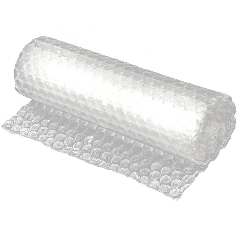 Eco-friendly protective air bubble cushioning wrap biodegradable wrap bag packaging bubble cushioning wrap on roll