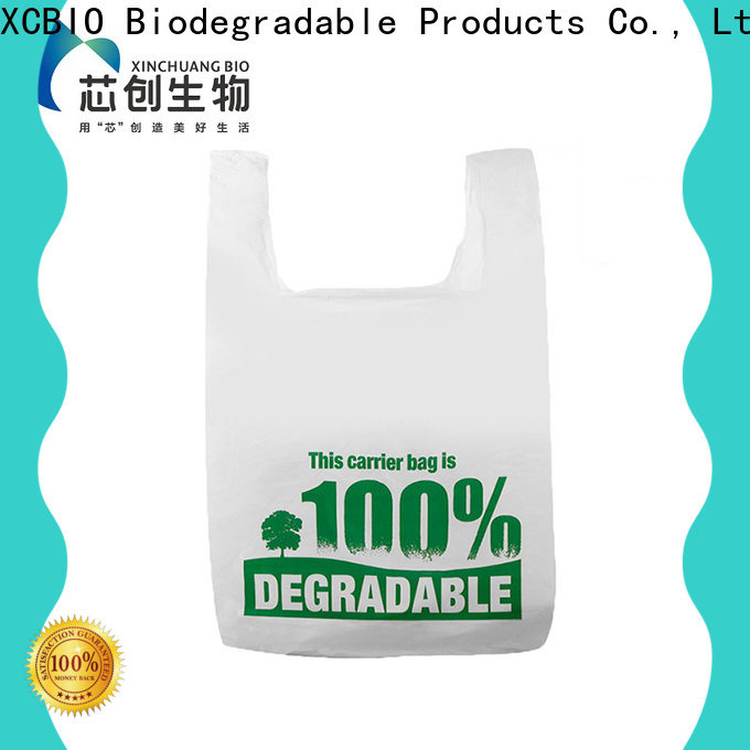 XCBIO latest biodegradable produce bags widely-use for party