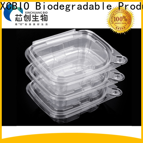 XCBIO new biodegradable food packaging factory for office